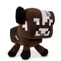 Minecraft Brown Mooshroom Cow Plush Toy