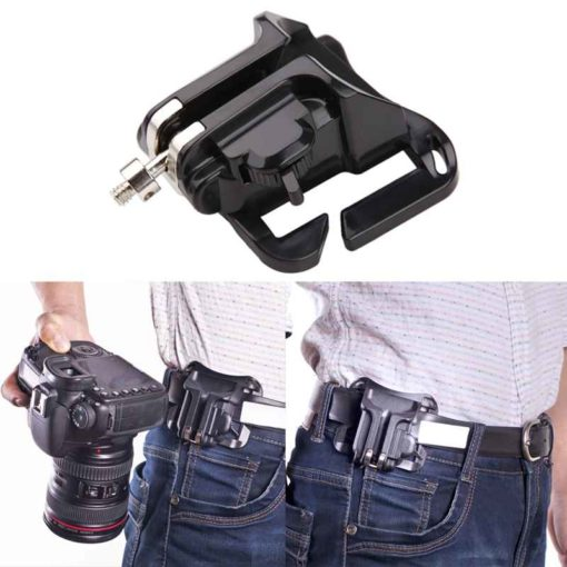 DSLR Camera Belt Buckle Clip