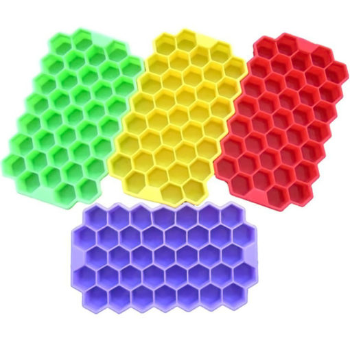 Honeycomb Silicone Ice Cube Tray