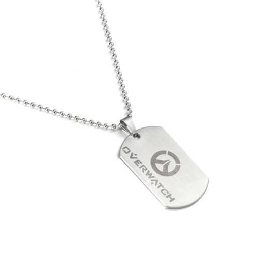 Overwatch Stainless Steel Dog Tag Necklace