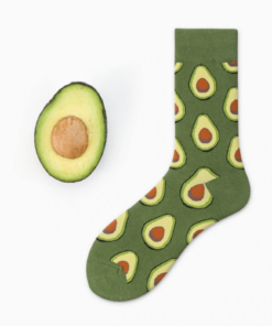 Avocado Pattern Socks