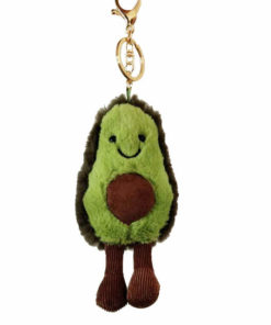 Avocado Plush Keychain