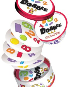 Dobble Card Game 1 2 3 Numbers