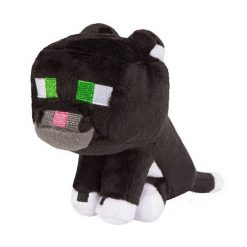 Minecraft Tuxedo Cat Plush Toy