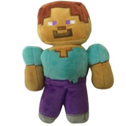Minecraft Brown Steve Plush