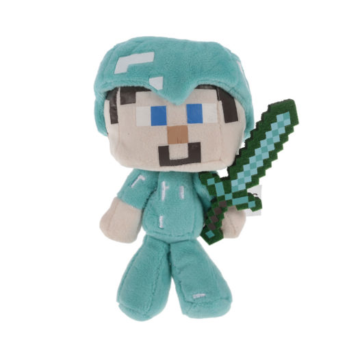 Minecraft Steve with Diamond Sword