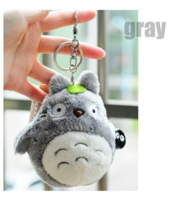 My Neighbor Gray Totoro Plush Keychain Toy