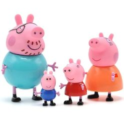 Peppa Pig Pack of 4 Figures