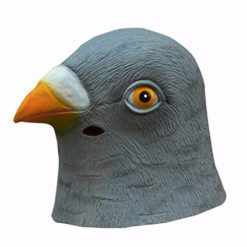 Pigeon's Head Mask Latex Rubber