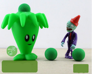 Plants vs Zombies - Peashooter Action Figure Toy (Style 14)
