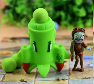 Plants vs Zombies - Peashooter Action Figure Toy (Style 20)