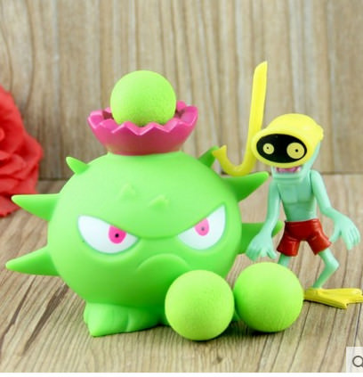 Plants vs Zombies - Peashooter Action Figure Toy (Style 25)
