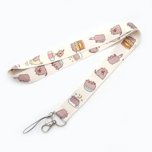 Pusheen Cat Lanyard