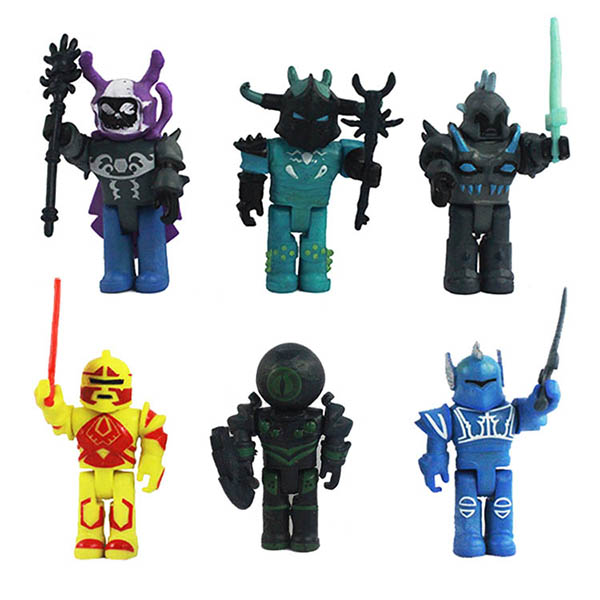 Shop Roblox 6 Piece Champions Of Roblox Figure Set Online In Roblox Champions Of Roblox 6 Piece Action Figure Set Geekswag