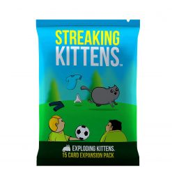 Streaking Kittens Expansion Pack Booster for Exploding Kittens