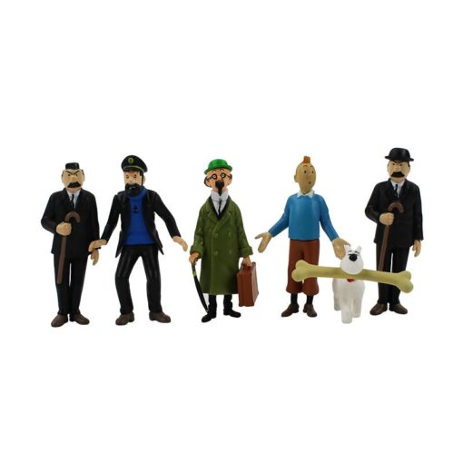The Adventures of Tintin - 6 Action Figures