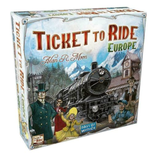 Ticket to Ride Game Europe