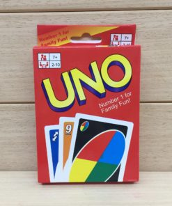 Uno Playing Cards Game